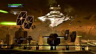 The Force Unleashed PC: Star Destroyer Scene