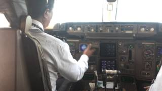 Pilot in action:Landing (ILS R34L OTHH (DOHA) by Capt.M.M Dangol,B-757-200
