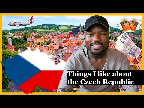 Things I like about Czechia South African Youtuber