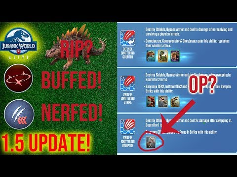 Xxx Mp4 1 5 UPDATE SUPERIORITY NERF NEW MOVES MOVE CHANGES Jurassic World Alive 1 5 Analysis P2 Moves 3gp Sex