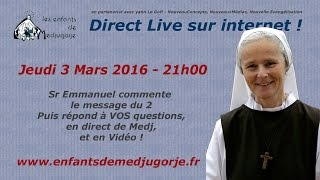 Direct du 3 Mars 2016 Part1 : commentaire