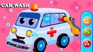 Ambulance Car Wash | Cartoon Videos For Babies by Kids Channel