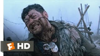 Deathwatch (2002) - Living Barbed Wire Scene (9/11)   Movieclips