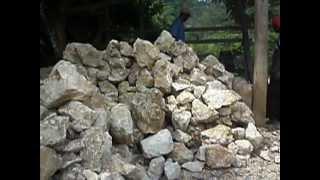 Así se tritura la piedra caliza
