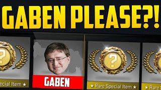 GABEN PLEASE?! - CS GO Case Opening Funny Moments
