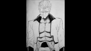 how to draw Grimmjow from Bleach (competition with  MsObsessivefangirl)