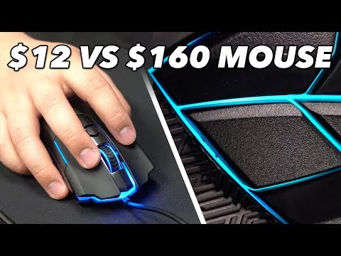 12 Mouse Vs. 160 Mouse We Try Cheap Vs. Expensive Gaming Mice in Fortnite