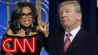If Oprah had 10 minutes with Trump ...