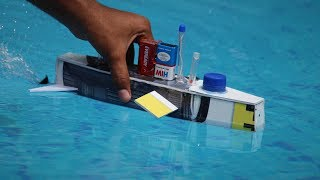 How To Make a Submarine - underwater boat