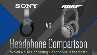 Bose QC35 vs. Sony MDR-1000X - Wireless Headphones Comparison