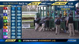 Gulfstream Park Carrera 14 (The 72nd Running of The Xpressbet Fountain of Youth) - 3 de Marzo 2018