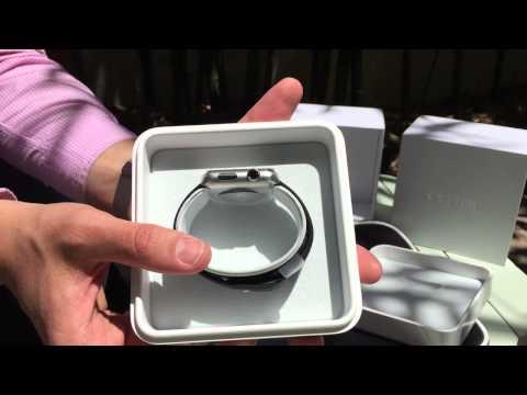 Apple Watch Stainless Steel 42mm + Sport Black - BazarCom.cz