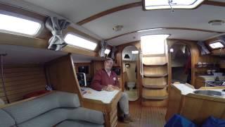 Interview de Jean-Luc Van Den Heede (VDH) à bord de son Feeling 1040