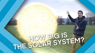 how big is our solar system  earth lab