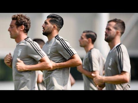 Juventus pre-season training - Day One