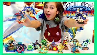 NEW SKYLANDERS SUPERCHARGERS | PS4 Starter Pack | Vehicles & Figures Unboxing