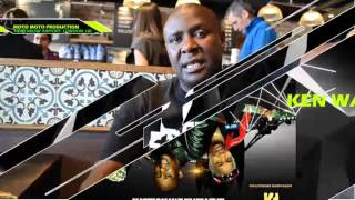 Ken Wa Maria , Kanda King & Mighty Salim interview live at heathrow airport