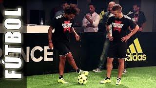 Fútbol Freestyle con Gareth Bale, Marcelo Vieira & Football Tricks Online - Adidas The Base
