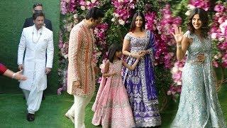 Bollywood Celebs Arriving @Mukesh Ambani