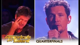 Michael Ketterer: Simon Cowell BREAKS DOWN Crying On Live TV After This | America
