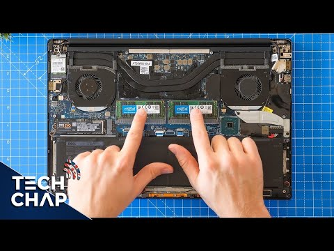 Upgrading my Dell XPS 15 9570 SSD RAM & Wi Fi The Tech Chap