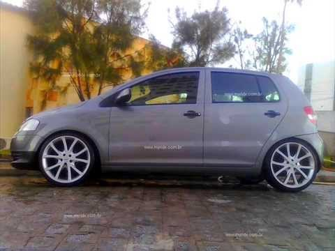 VW Fox Rebaixado Rodas