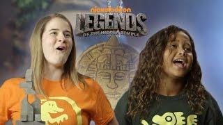 '90's Kids vs. Today's Kids: Hidden Temple Challenge // Presented By BuzzFeed & Nickelodeon
