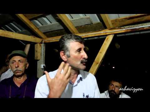ÖDP Eş Başkanı Alper Taş'ın Arhavi direniş evindeki konuşması