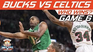 Boston Celtics vs Milwaukee Bucks | Game 6 | Who will win ? | Hoops N Brews
