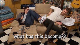 rhett and link behaving like children for 6 minutes straight