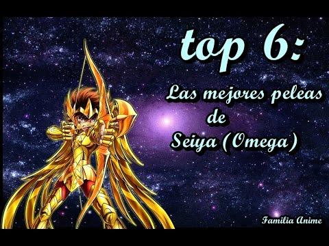 TOP 6: las mejores peleas  de seiya (Omega)
