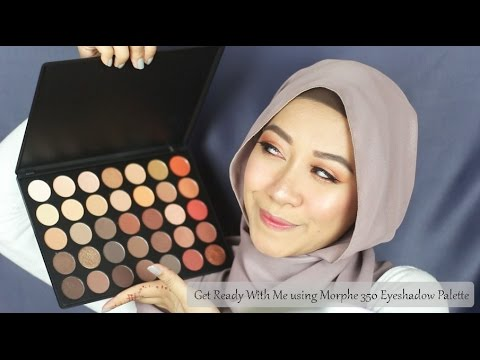 [GRWM] Copper Bronzy Fall Inspired Look w Morphe 350 Palette | Syadaahally