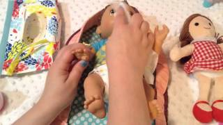 Kids Toys-baby alive changing time doll olivia's night routine