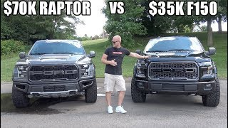 $35K Modified F150 VS $70K Ford Raptor | What's the better value?