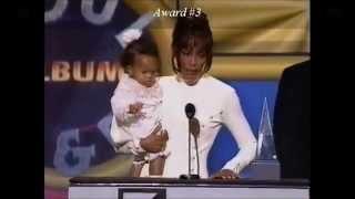 Whitney Houston Wins 8 Awards at '94 AMA