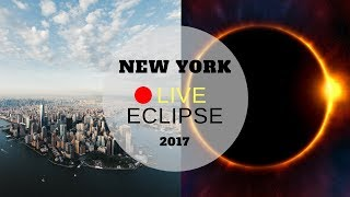 🔴LIVE ECLIPSE 2017 IN NEW YORK CITY 🌒 JOIN US! 😮