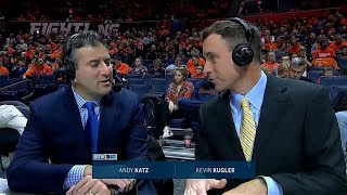 Andy Katz Makes BTN Game Debut