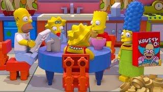 LEGO Dimensions - Simpsons Level Pack All 10 Minikits (TARDIS Secret Area)