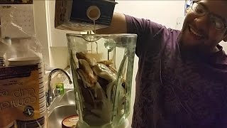 Mcdonalds Double CheeseBurger Milkshake Challenge (Throw Up WARNING!!)