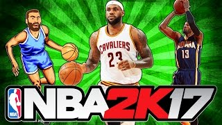 CLEVELAND CAVALIERS vs INDIANA PACERS! - NBA 2K17