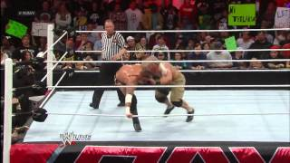 John Cena vs. CM Punk - Winner faces The Rock for the WWE Title at WrestleMania: Raw, Feb. 25, 2013