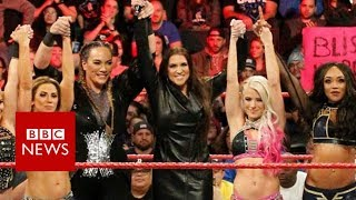 Bringing female equality to the WWE