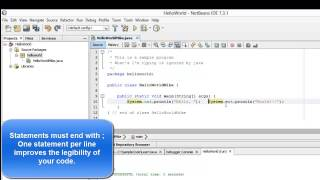 Learn Programming in Java - Lesson 01 : Java Programming Basics