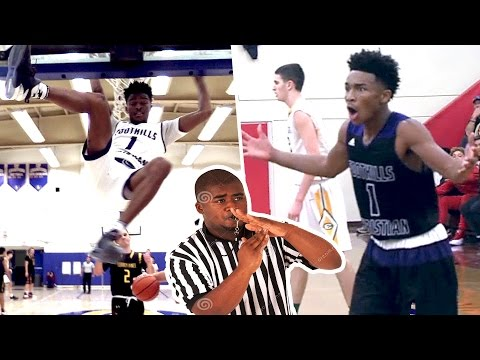 Jaylen Hands REFUSES to LET GO OF THE RIM ALL Technical Fouls From Dunking Senior Year