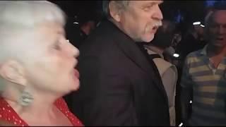 Kontrmanifestacja Klubów GP pod domem J.Kaczyńskiego