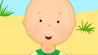 CAILLOU - A DAY AT THE BEACH | Cartoons for kids | Funny Animated Cartoons for Children