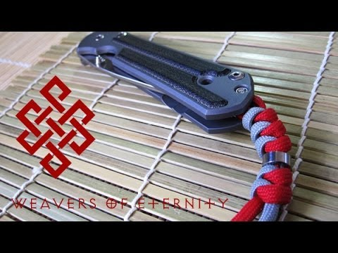 How to Tie a Chris Reeve Lanyard Snake knot with bead