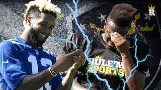 ODELL BECKHAM JR. SHOCKS KSI | Rule'm Sports