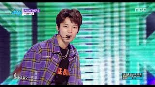 [HOT] THE BOYZ - RIGHT HERE , 더보이즈 - RIGHT HERE Show Music core 20180922