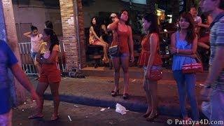 Pattaya 2013 Walking Street Nightlife, Part 2